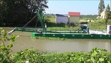 12 inch easy transporting used sand dredgers