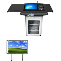 Smart Digital define Lectern without Equipments for School Desk