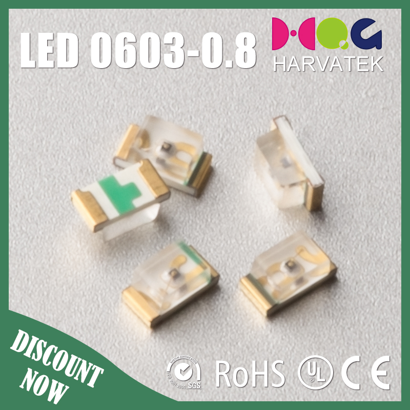 Surface mount 0603 410-415nm PLCC2 SMD UV LED diode