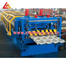 Competitive Price Corrugated Cold Glazed Tile Roll Forming Machine For Roof Profile