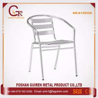 Professional custom reception aluminum ladderback office chair for office