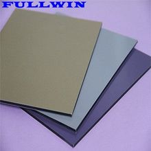 Most popular stone wooden print wall perforated ACM ACP aluminum composite panel