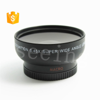 Universal 46mm 0.45X Wide Angle Macro Conversion Extra Lens Attachment for Camera DSLR Lens