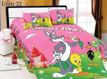 3D bedding set cartoon kid/child printed bed sheet sets Princess wholesale comforter cover twin/single/double/queen/king size