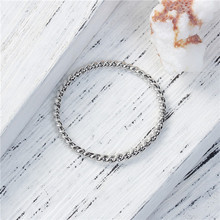 Zinc Based Alloy Cable Twisted Connectors Circle Ring Silver Tone Jewelry Bracelet Connector