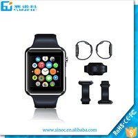 High quality gift touch screen A1 smart watch phone with camare MP3 player heat rate smart watchphone