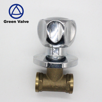Green-GutenTop Chinese Supplier high quality npt female thread Ship Brass Angle Stop Check Valve 1/2inch