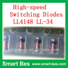 Smart Bes~ High Quality!! Original 1N4148 High-speed Switching Diodes LL4148 LL-34 electronic components
