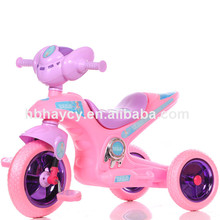2017 hot sale kids moto tricycle with high quality china manufacture