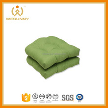 Outdoor Waterproof Fabric Plain Style Seat Cushion