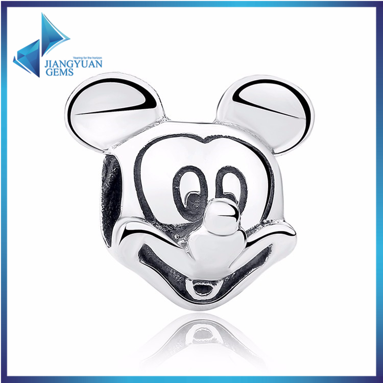 sterling silver mickey mouse charms for bracelet and bangle
