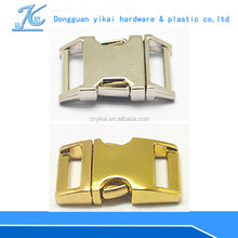 New pet collar buckle wholesale,pet collar breakaway buckle,side release buckle curved