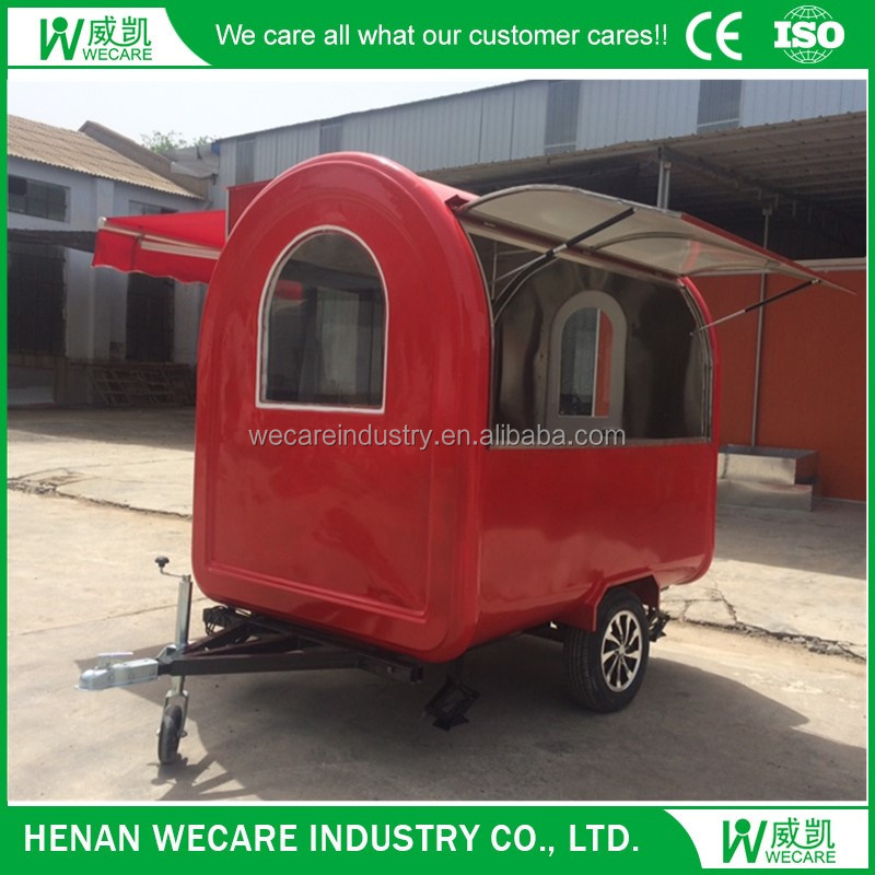 Outdoor Hot Selling Used Food Trailer From China Manufacture