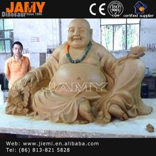 Customized artificial fiberglass buddha statue
