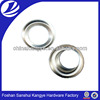 Metal eyelet, metal button,flat eyelet; metal eyelet with plastic washer Vc-61