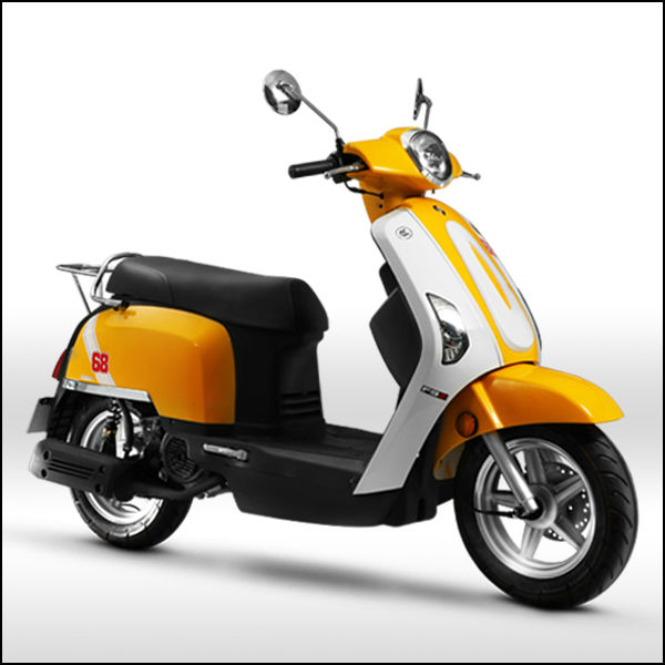 ZNEN MOTOR --F9 gas and electric scooter motorcycle with eec epa dot certification