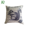 Custom Print Decorative Animal Squirrel Kitchen Cushion Covers Chair Back Covers Pad Covers