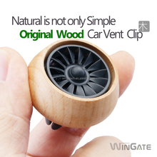 2018 New arrivals Auto Vehicle Unique gift wooden Car Aroma Diffuser Car Perfume Air freshener Vent Clip Eco-friendly