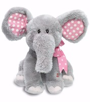 Real good quality kawaii plush elephant toys free sample