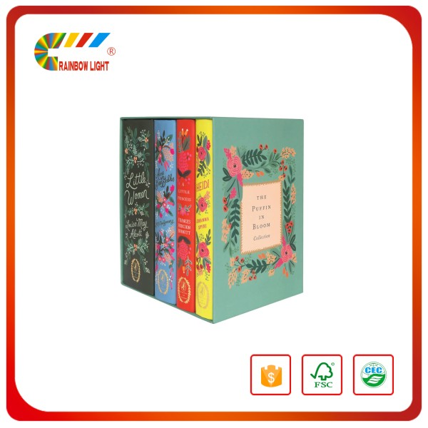 Hot sell professional artwork panton color hardcovered book colorful hardback book