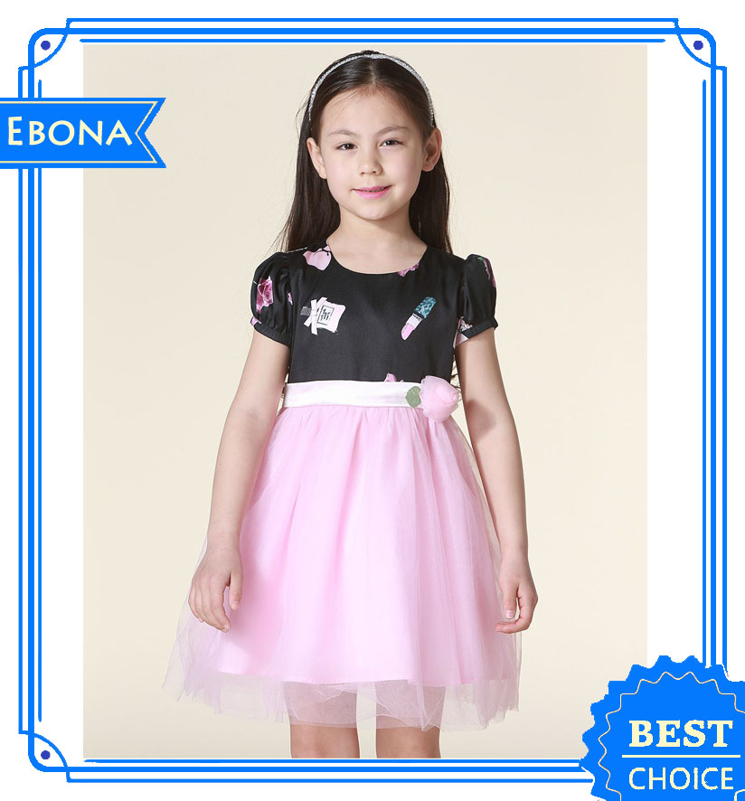 Persnickety Flower Little Girl Kids Frilly Dressses Princess Girl Dress
