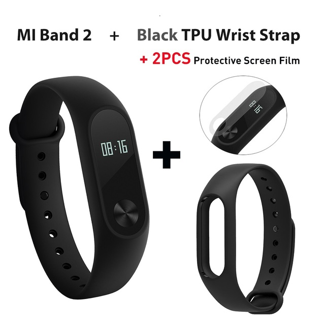 In stock Original Xiaomi Mi Band 2 miband 2 Smartband OLED display touchpad heart rate monitor Bluetooth 4.0 fitness tracker