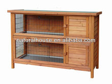 4FT double Rabbit Cage with Tray