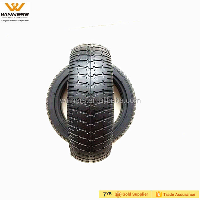 6 inch semi-solid rubber tire for balance toy cars