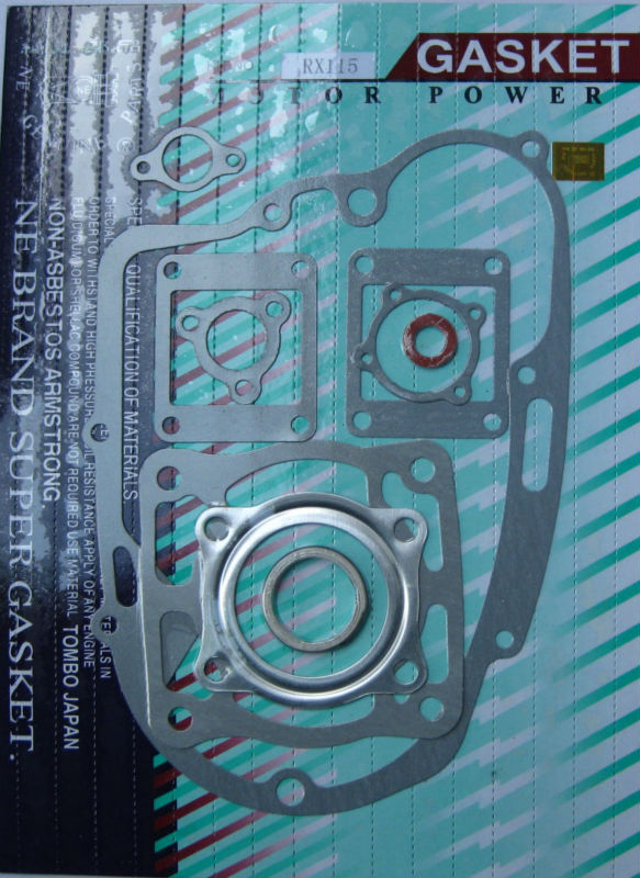 High quality motorcycle full gasket kit for for RX-115