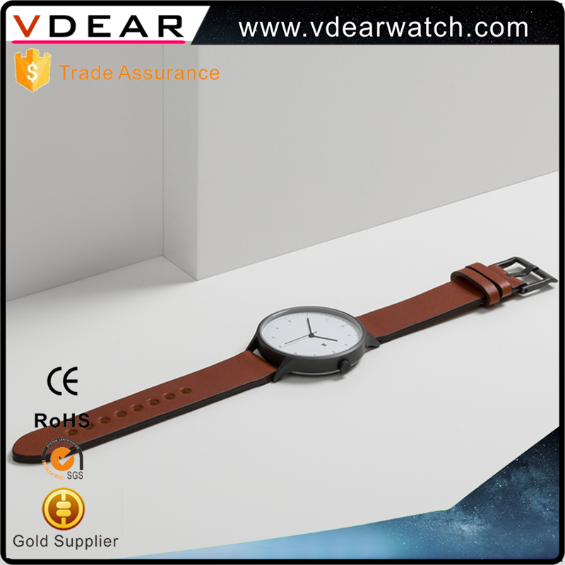 Genuine leather band elegance watch price japan movt bell and rose quartz watches