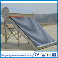 High Quality Stainless Steel Low Pressure integrated non-pressure certificated stainless steel Solar Water Heater