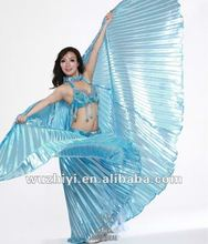 hot selling belly dancing wings-blue isis wings DJ1008