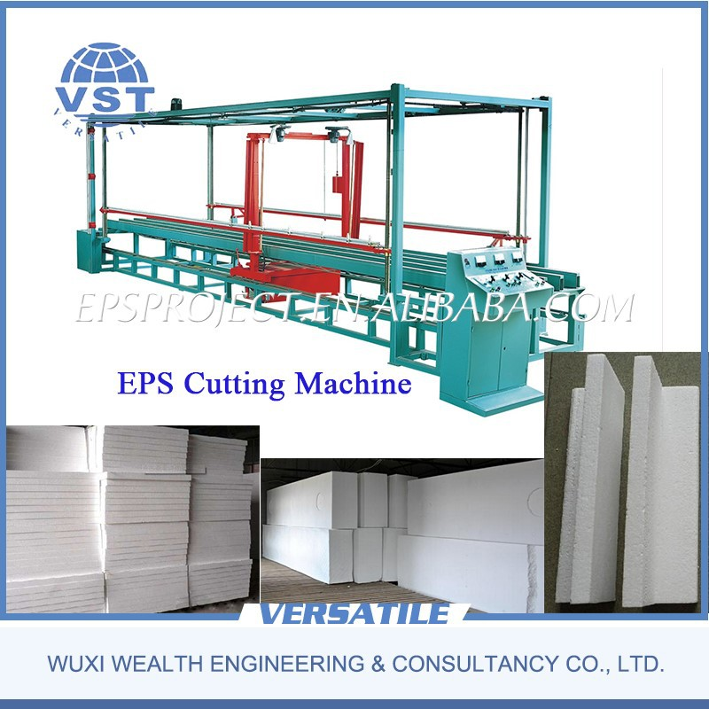 High quality eps polystyrene foam hot wire cutting machine