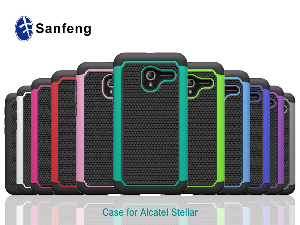 Free Samples Ballistic Silicone Cell Phones Case Cover Accessories for Alcatel Stellar TRU