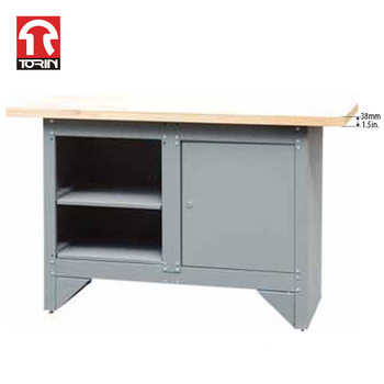 Torin TSA540D / TSA540D-L metal workbench with tool storage cabinet
