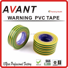 Vinyl Plastic Electrical Tape/PVC insulating Warning tape