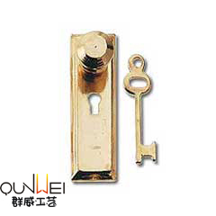 Dollhouse Fairy Door Metal Accessories Doors Handle