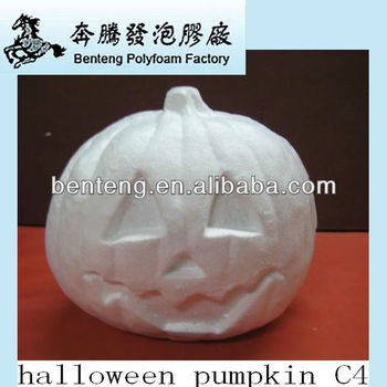 2013 hot promotional wholesale foam halloween pumpkin