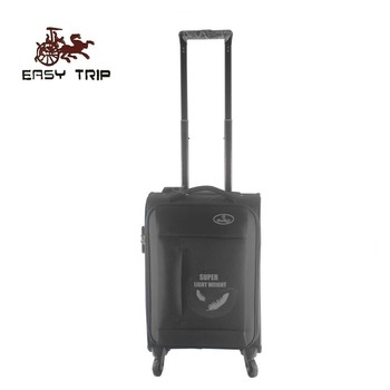 Super Lightweight Softside Upright Luggage Bag