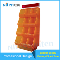 Acrylic Material Acrylic Cupcake Display Cabinet Manufacturer Transparent Acrylic Display Holders Showcases Plastic Display Case