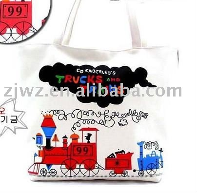 full color shopping cotton bag