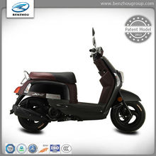 Digital speedometer & LED rear light gas scooter with unique design