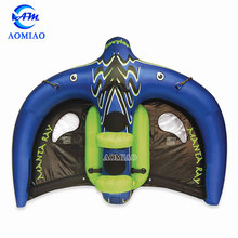 inflatable towable water sports inflatable flying manta ray for water game