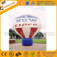 Factory direct big ground advertising inflatable balloon cheap price F1039
