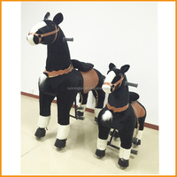 2016 promotion CE horse riding production,adult ride on toys,mechanical horse toys