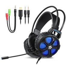 Private Tooling Wired Headphones Gaming Headset for PC PS4 XBOX