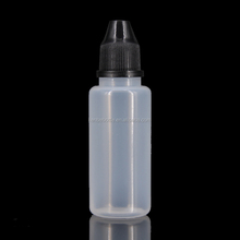 0.5oz LDPE translucent 15 ml e cigarette liquid vape bottle from china with short tip
