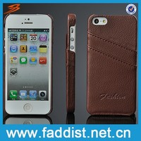 For iphone 5 leather case,for iphone 5 cover,leather back cover case