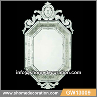 Traditional style cheap dressing mirror living room furniture