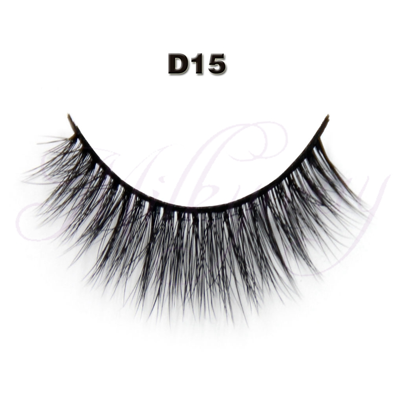 milkyway Wholesale synthetic mink volume 3d silk eyelash extensions